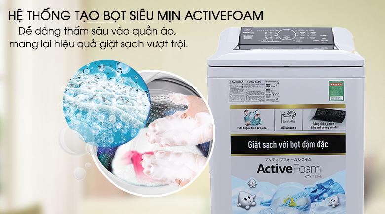 ActiveFoam - Máy giặt Panasonic 9 kg NA-F90A4HRV