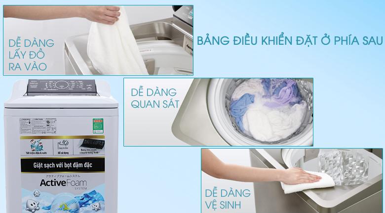 Bảng điều khiển - Máy giặt Panasonic 10 kg NA-F100A4GRV