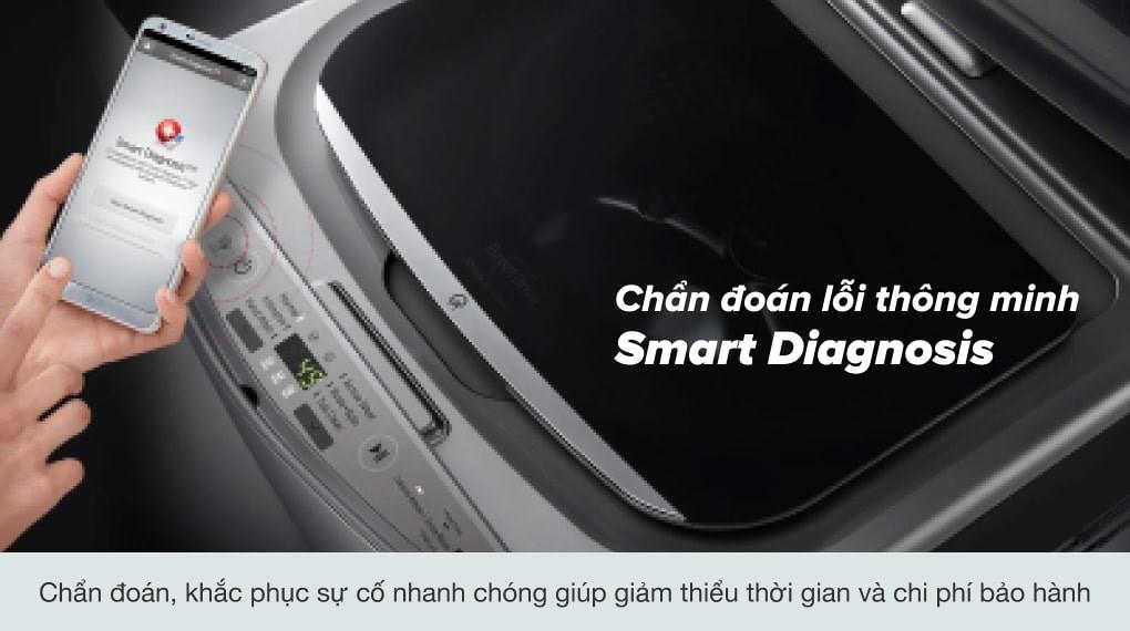 Dễ dàng kết hợp với nhiều loại máy giặt LG cửa trước - Máy giặt Mini LG 3.5 kg T2735NWLV