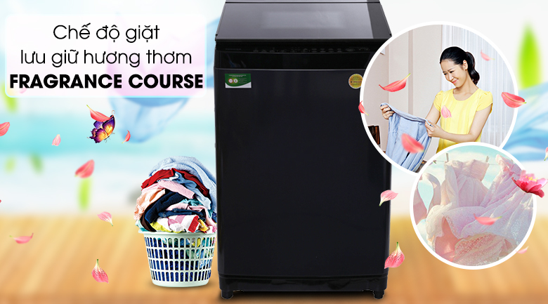 Fragrance Course - Máy giặt Toshiba Inverter 15 kg AW-DG1600WV (SK)