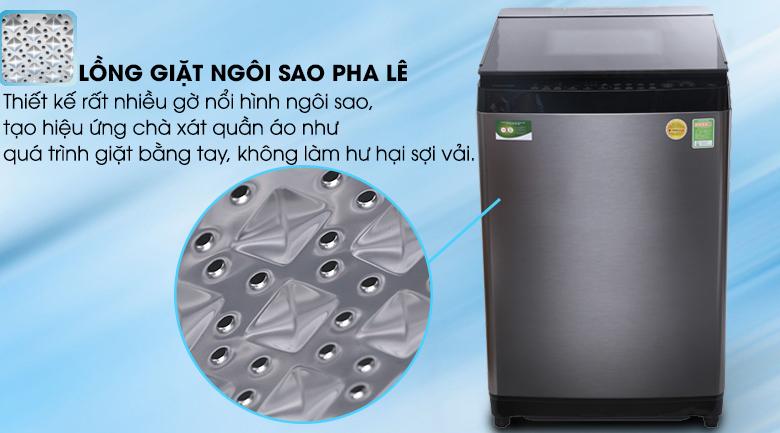Lồng giặt ngôi sao pha lê - Máy giặt Toshiba Inverter 15 kg AW-DG1600WV (SK)