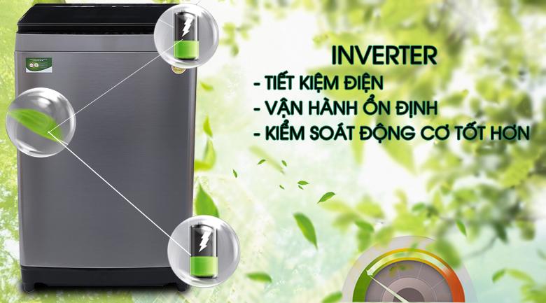 Inverter - Máy giặt Toshiba Inverter 16 kg AW-DUG1700WV (SS)