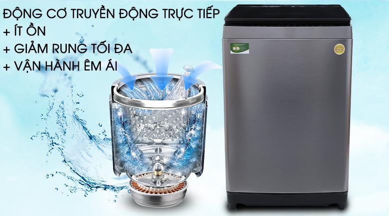 Động cơ truyền động trực tiếp - Máy giặt Toshiba Inverter 16 kg AW-DUG1700WV (SS)