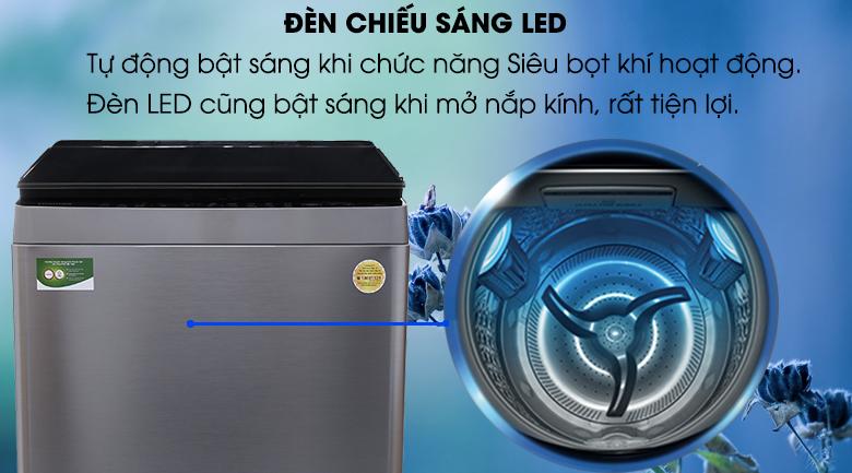 Đèn Led chiếu sáng - Máy giặt Toshiba Inverter 16 kg AW-DUG1700WV (SS)
