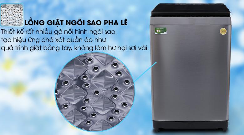 Lồng giặt ngôi sao pha lê - Máy giặt Toshiba Inverter 16 kg AW-DUG1700WV (SS)