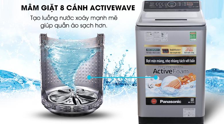 ActiveWave - Máy giặt Panasonic 10 kg NA-F100V5LRV