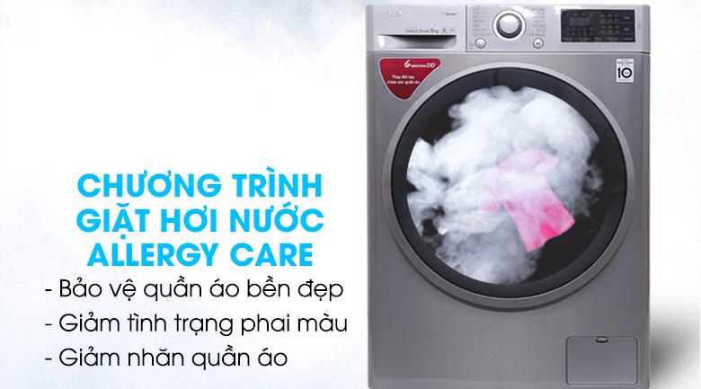 Giặt hơi nước - Máy giặt LG Inverter 8 kg FC1408S3E