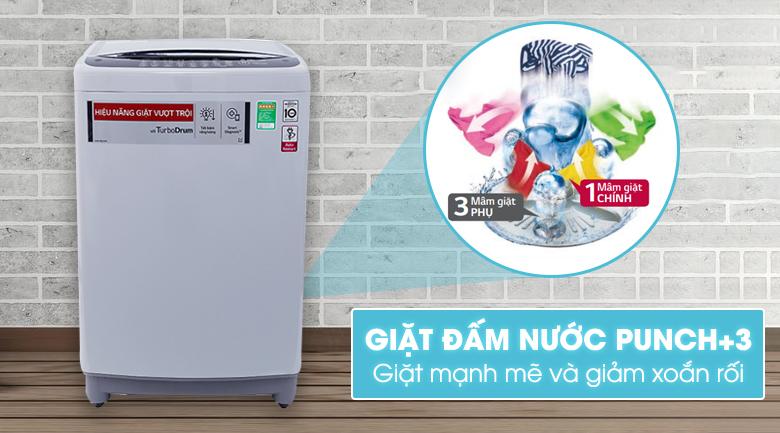 Công nghệ giặt đấm nước Punch +3