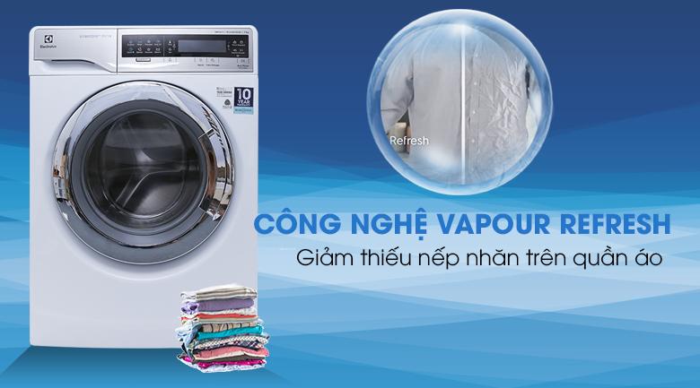 Tính năng Vapour Refresh - Máy giặt sấy Electrolux inverter 11 kg EWW14113