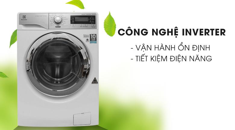 Công nghệ Inverter - Máy giặt sấy Electrolux inverter 10 kg EWW14023