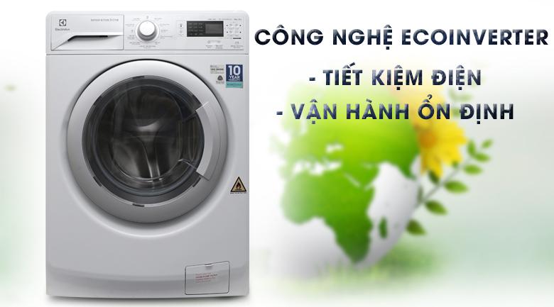 Công nghệ Eco Inverter - Máy giặt sấy Electrolux Inverter 8 kg EWW12853