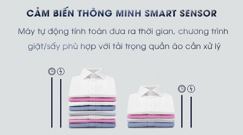 Smart Sensor - Máy giặt sấy Electrolux Inverter 8 kg EWW12853