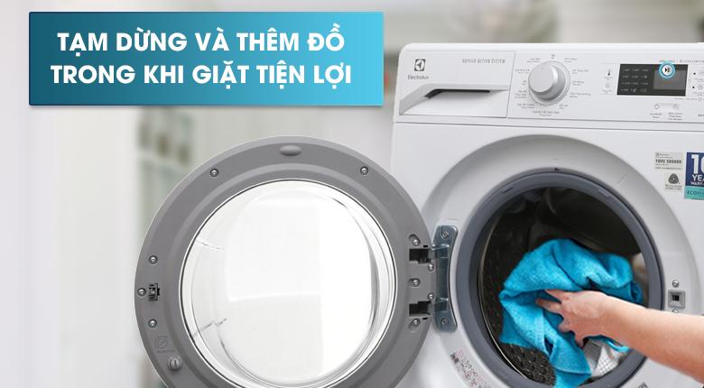 Chức năng Add Clothes - Máy giặt sấy Electrolux Inverter 8 kg EWW12853