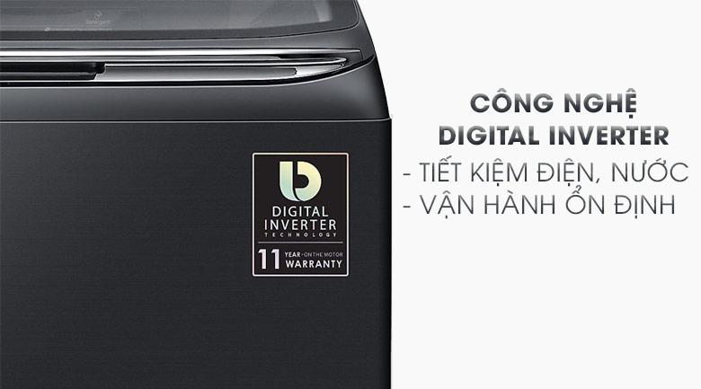 Digital Inverter - Máy giặt Samsung Inverter 18 kg WA18M8700GV/SV