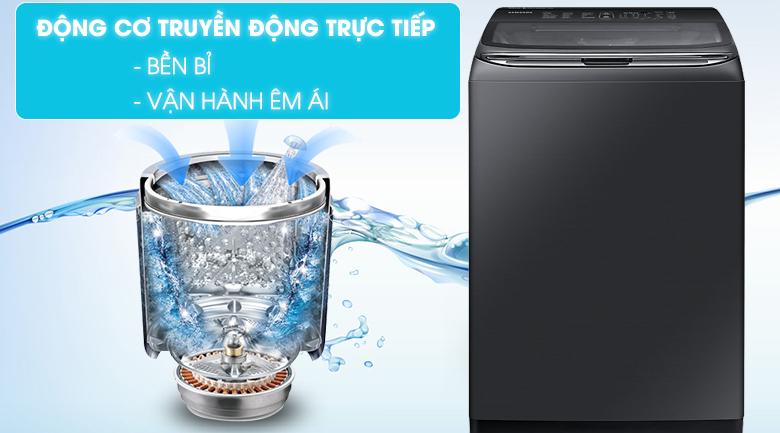 Động cơ truyền động trực tiếp - Máy giặt Samsung Inverter 18 kg WA18M8700GV/SV