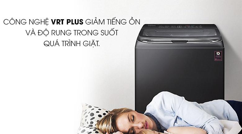 Công nghệ VRT Plus - Máy giặt Samsung Inverter 18 kg WA18M8700GV/SV