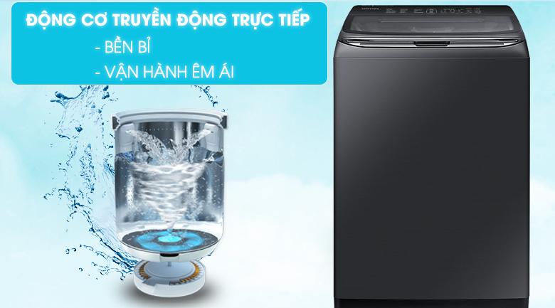 Động cơ truyền động trực tiếp - Máy giặt Samsung Inverter 21 kg WA21M8700GV/SV