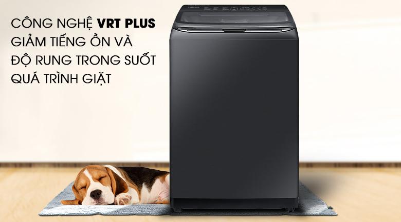 Công nghệ VRT Plus - Máy giặt Samsung Inverter 21 kg WA21M8700GV/SV