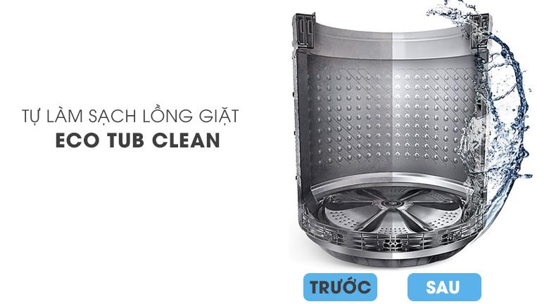 Tính năng Eco Tub Clean - Máy giặt Samsung Add Wash Inverter 17 kg WD17J7825KP/SV