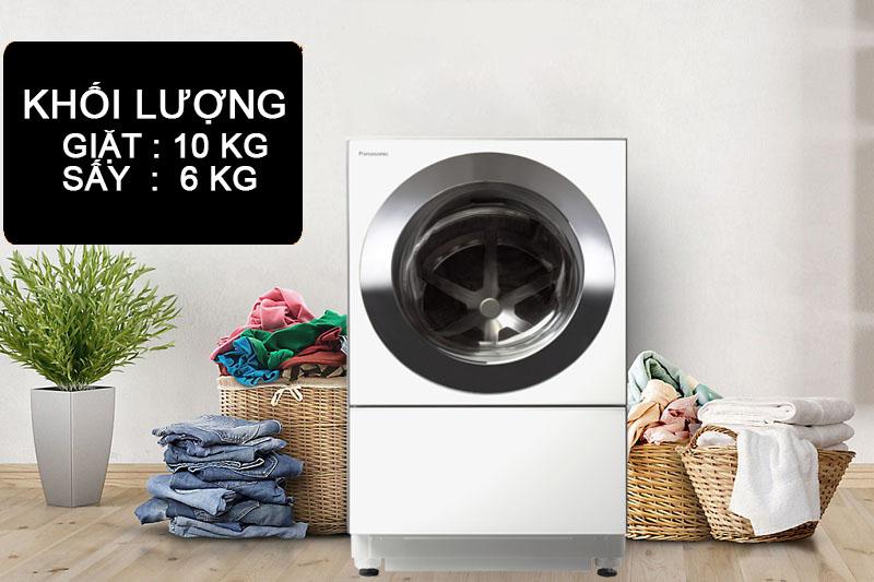 Máy giặt có tính năng sấy - Máy giặt Panasonic NA-D106X1WVT
