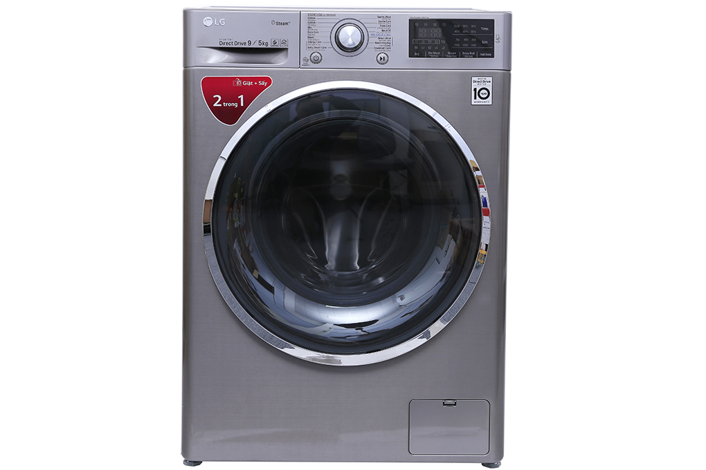 Máy giặt sấy LG Inverter 9kg FC1409D4E hình 1