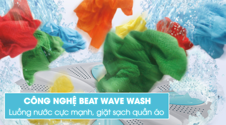 công nghệ beat wave wash