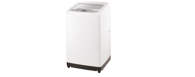 Máy giặt với kiểu dáng đơn giản, phù hợp với mọi không gian