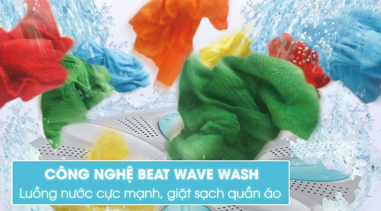 Công nghệ giặt tẩy Beat Wave Wash