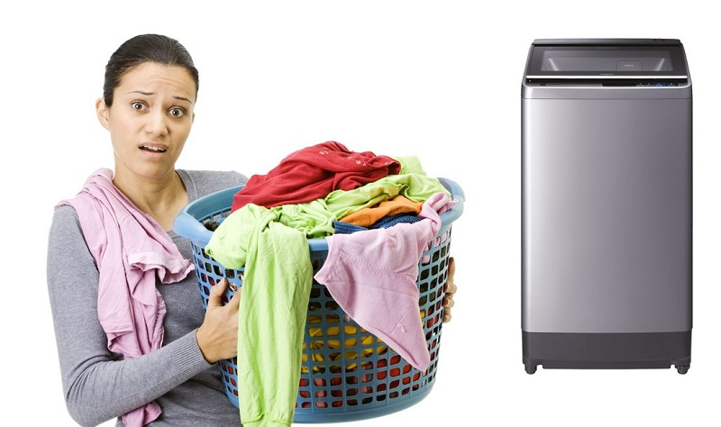 Khối lượng giặt cực lớn lên đến 13 kg
