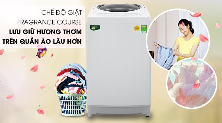 Chế độ giặt lưu giữ hương thơm Fragrance course- Máy giặt Toshiba 9kg AW-G1000GV WG