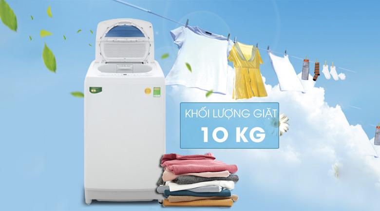 Khối lượng giặt 10kg - Máy giặt Toshiba 10 kg AW-G1100GV WB