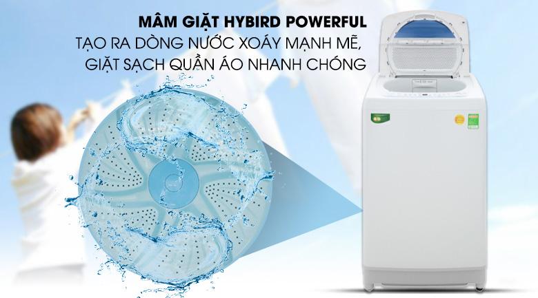 Mâm giặt Hybrid Powerful - Máy giặt Toshiba 10 kg AW-G1100GV WB