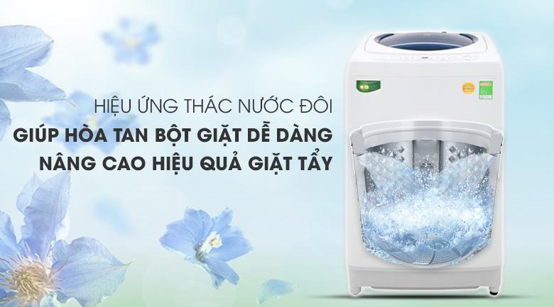 Hiệu ứng thác nước đôi - Máy giặt Toshiba 10 kg AW-G1100GV WB