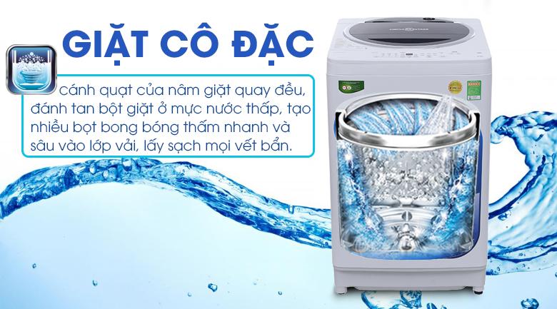 Giặt cô đặc bằng bọt khí - Máy giặt Toshiba 10.5 kg G1150GV(WK)