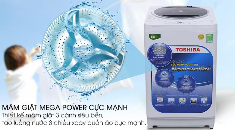 Mega Power - Máy giặt Toshiba 10.5 kg G1150GV (WK)