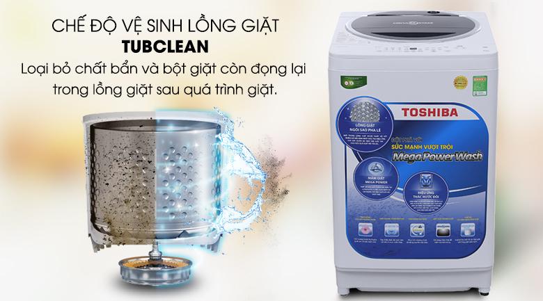 Chế độ làm sạch lồng giặt - Máy giặt Toshiba 10.5 kg G1150GV(WK)
