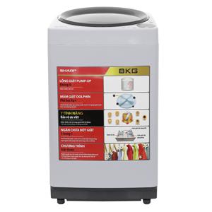 Máy giặt lồng đứng Sharp ES-U72GV-H, 7.2kg