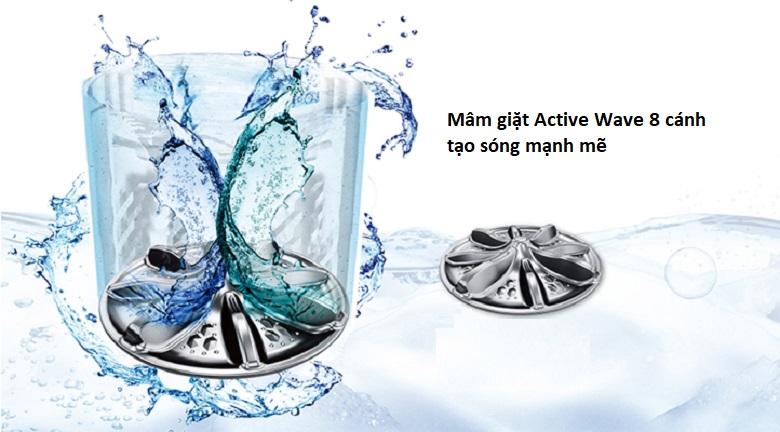 Active Wave - Máy giặt Panasonic 10 Kg NA-F100X5LRV