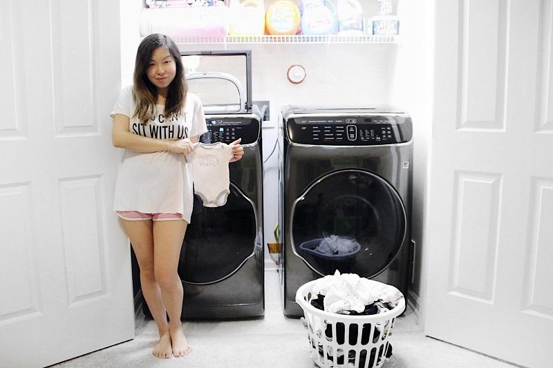 Luồng không khí cực nóng Air Wash loại bỏ mùi hôi bám trên đồ giặt