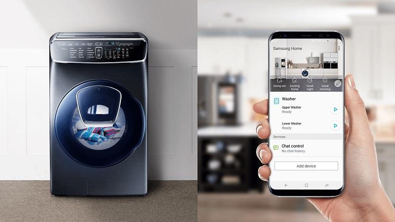 Dễ dàng điều khiển máy giặt mọi lúc, mọi nơi