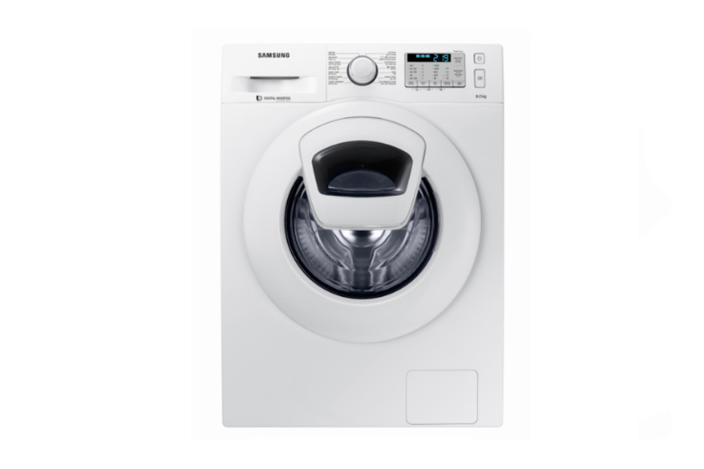 thiết kế máy giặt Samsung WW80K5233YW-SV