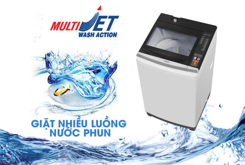 Giặt nhanh và sạch với công nghệ Multi Jet Wash Action