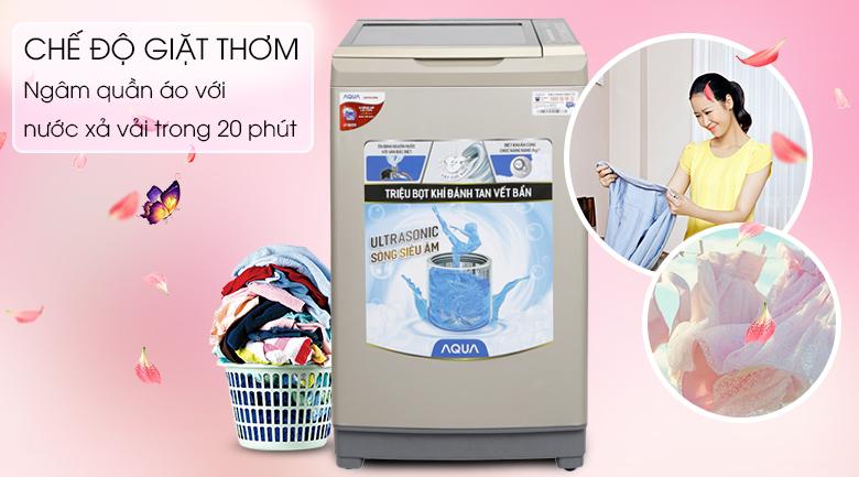 Chế độ giặt thơm - Máy giặt Aqua 9kg AQW-U91BT(N)