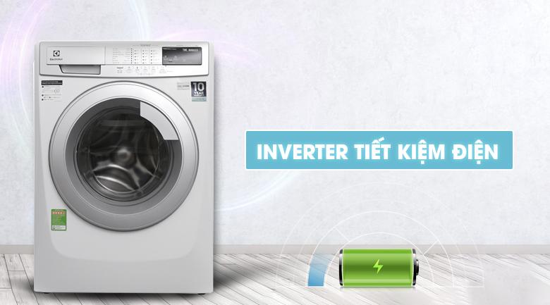 Công nghệ Inverter - Máy giặt Electrolux Inverter 9kg EWF12944