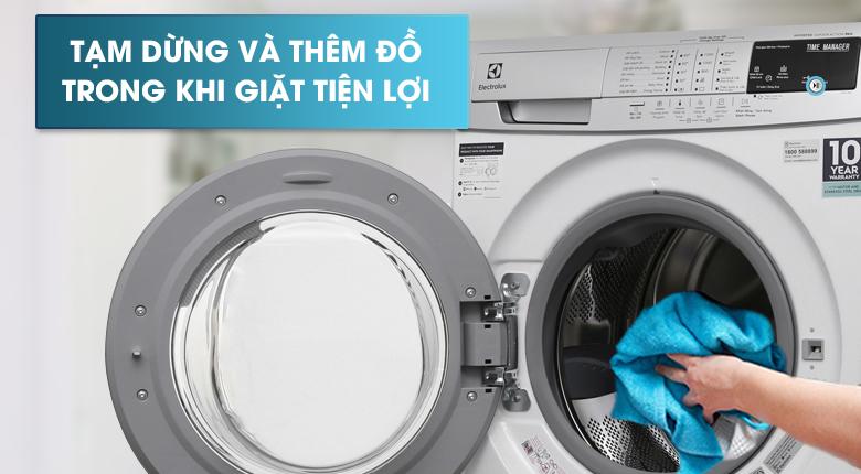 Chức năng Add Clothes - Máy giặt Electrolux Inverter 9kg EWF12944