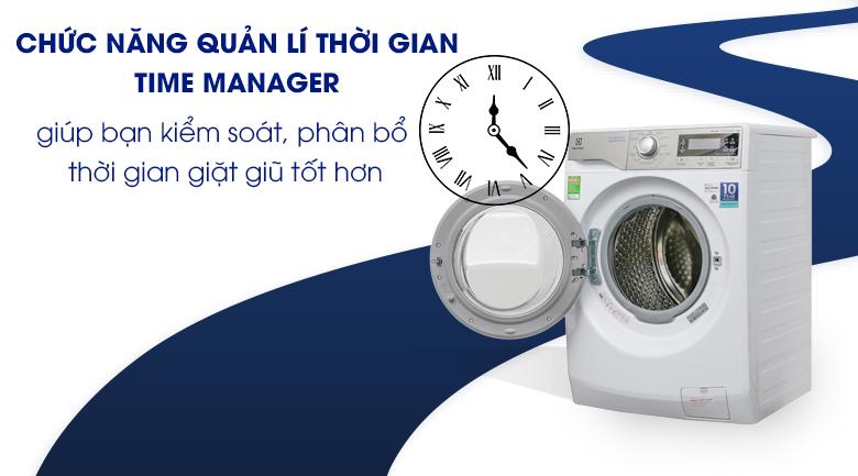 Time Manager - Máy giặt Electrolux Inverter 9 kg EWF12938