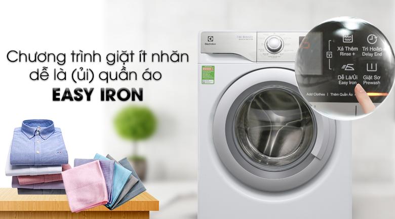 Easy Iron - Máy giặt Electrolux Inverter 9 kg EWF12938