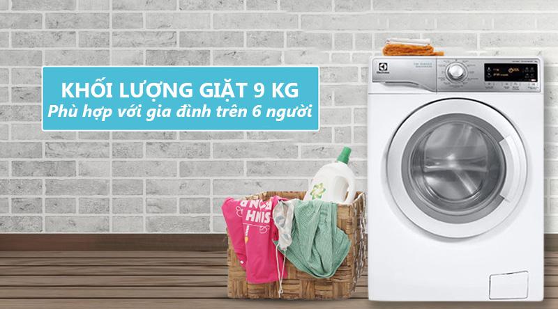 Máy giặt Electrolux Inverter 9k EWF12938