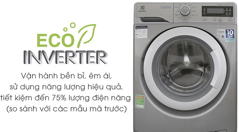 Công nghệ Eco Inverter - Máy giặt Electrolux Inverter 9kg EWF12938S