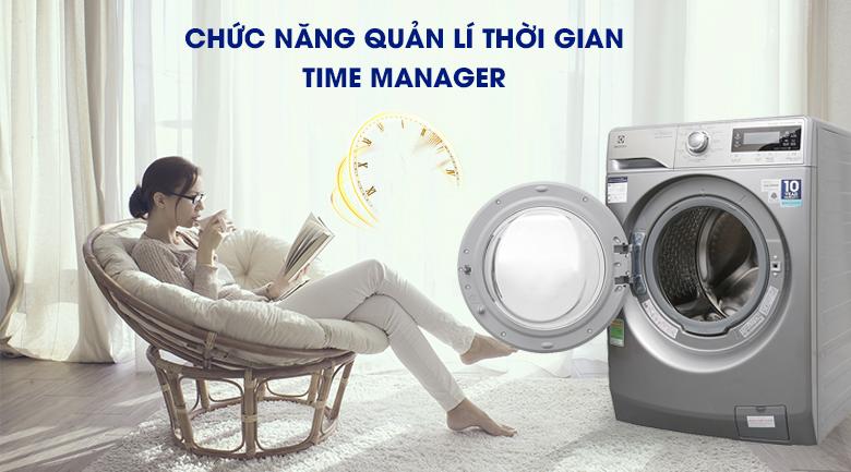 Chức năng quản lí thời gian Time Manager - Máy giặt Electrolux Inverter 9kg EWF12938S